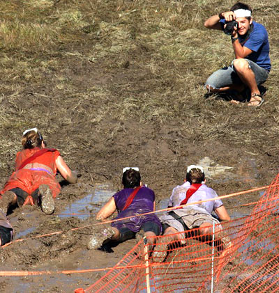 Hard news cafe blog archive 2 000 racers get down and for Dirty foot mud ranch
