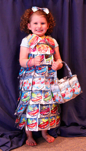 Hard News Cafe » Blog Archive » Recycled milkjugs, tinfoil, candy ...