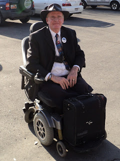 Vietnam veteran Larry O'Sullivan. Photo by Storee Powell.