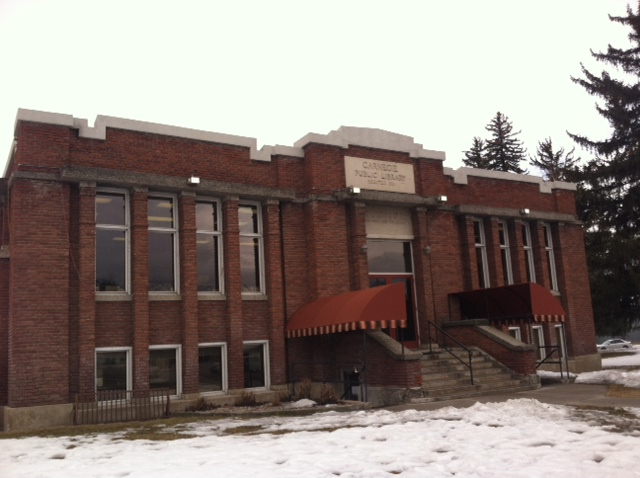Smithfield's Carnegie Library is expanding. Alicia Facer photo