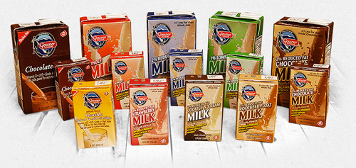GET A (SHELF) LIFE! Gossner's boxed milk is good for a year on the shelf.