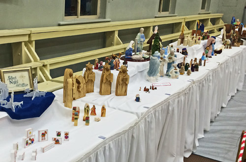 Smithfield families shared 94 different nativity scenes from around the world. (Rebecca Wheatley photo)